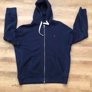 Men's polo hoodie size L